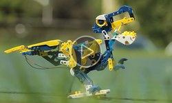 Видеообзор Робопарка 12 в 1 от CIC (при участии Кабанчика Санни)