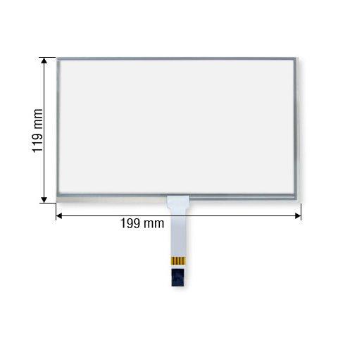 """8,5"""" Сенсорное стекло для автомобилей Acura Infiniti Honda"""