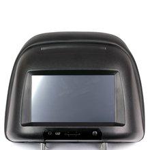 """Подголовник с 7"""" сенсорным монитором и DVD плеером - Краткое описание"""