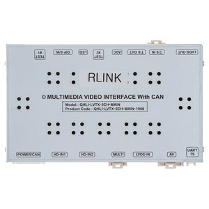 Video Interface for Renault Opel Smart with R Link Head Unit of 2014~ YM