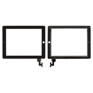 Touchscreen for Apple iPad 2 Tablet, (black)