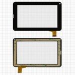 "Touchscreen China-Tablet PC 7""; Freelander PD200, (7"", 111 mm, 186 mm, 30 pin, capacitive, black) #DH-0703A1-FPC04/L20130705/HK70DR2009/PB70A8508/FM703906KA/FM703906KD/YL-CG015-FPC-A3/DR7-M7S-WJ/WJ1659-FPC-V1.0"