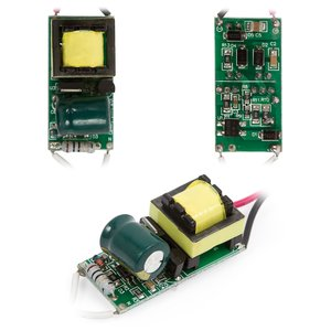 LED Lamp Driver with Dimmer 5-7 W 85V-265V 50/60 Hz with Galvanic Isolation