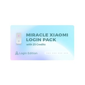 Miracle Xiaomi Tool Pack (Login Edition) with 25 Miracle Xiaomi Credits (Login Edition)