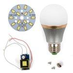 Juego de piezas para armar lámpara LED SQ-Q22  7 W (luz blanca fría, E27)