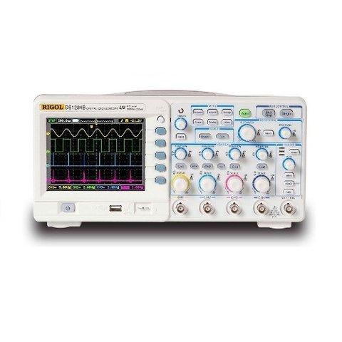 Цифровой 4 канальный осциллограф RIGOL DS1204B