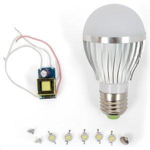 Комплект для збирання світлодіодної лампи SQ-Q02 5 Вт (холодний білий, E27)
