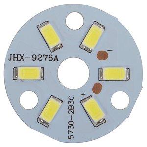 Плата со светодиодами 3 Вт (холодный белый, 350 лм, 32 мм)