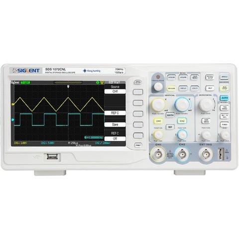 Цифровий осцилограф SIGLENT SDS1072CNL