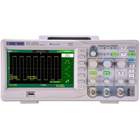 Цифровий осцилограф SIGLENT SDS1102CNL