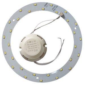 Комплект для збирання світлодіодного світильника 15 Вт (природний білий, круглий, 4000-4500 К)