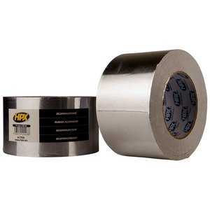 Лента алюминиевая односторонняя HPX 50 мм, 50 м, 0,04 мм