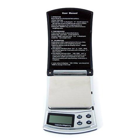 Кишенькові електронні ваги YF K1 200 г 0,01 г