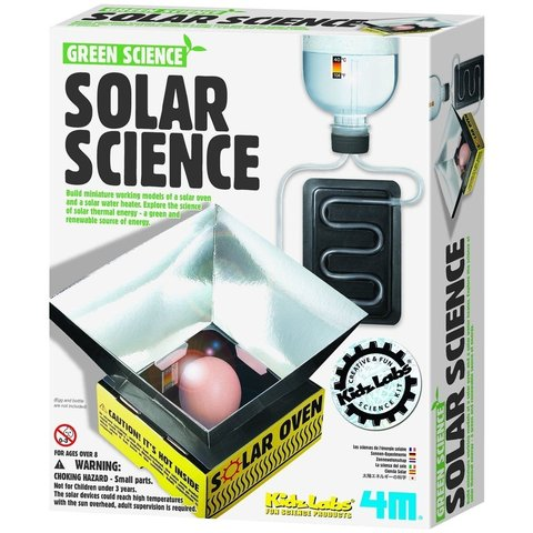 STEAM-конструктор 4M Опыты с солнечной энергией 00-03278