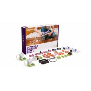 """Juego electrónico de construcción LittleBits """"Conjunto de dispositivos y gadgets"""""""